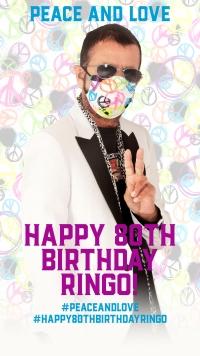 Акция Peace & Love в день рождения Ринго Старра!